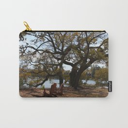 Peace By The Creek Carry-All Pouch