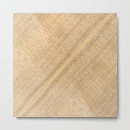 White Oak Wood Metal Print