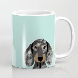 Doxie Dachshund merle dapple dog cute must have dog accessories dog gifts cute doxies dachshunds des Coffee Mug