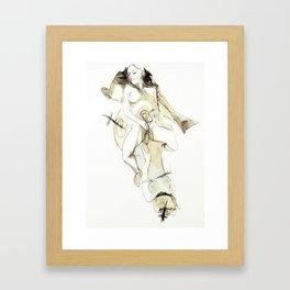 Tristan Corbière, Thick Black Trace, Pudentiane Framed Art Print