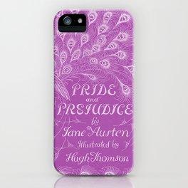 Pride and Prejudice - Plum iPhone Case