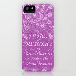 Pride and Prejudice - Plum iPhone Case