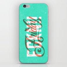 FCKN Friday iPhone & iPod Skin