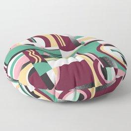 Bauhaus/ Deco 2 Floor Pillow