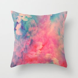 Food Coloring Throw Pillow