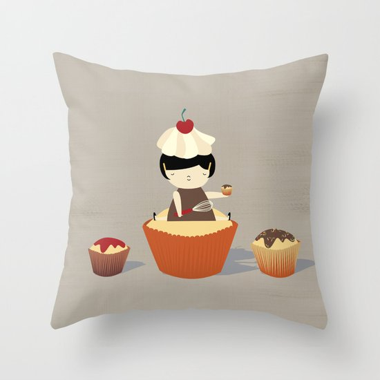 Oversweet Throw Pillow