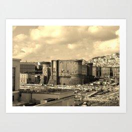 Castle Nuovo 2 Art Print