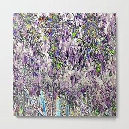 Emanating high vibrational violet energy Metal Print