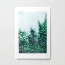 Raindrops are falling on my head Metal Print
