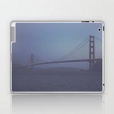 Golden Gate at Nightfall  Laptop & iPad Skin