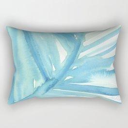 Abstract Palm Leaf Rectangular Pillow