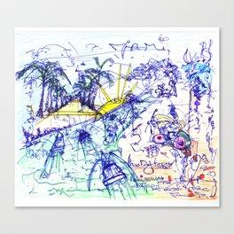 Miami Concussion Canvas Print