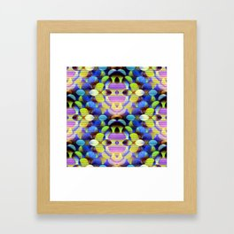 Colorful Orbs Framed Art Print