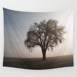Solitude Frost Wall Tapestry