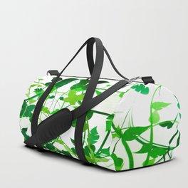 Butterfly Leaf Design Duffle Bag