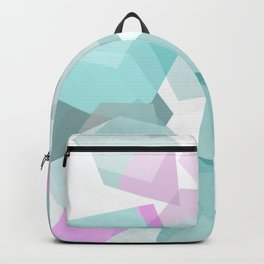Gems in sea green Backpack