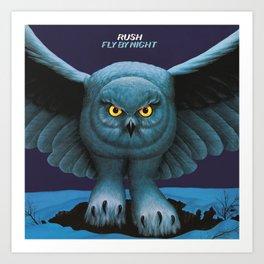 Rush Fly By Night Art Print