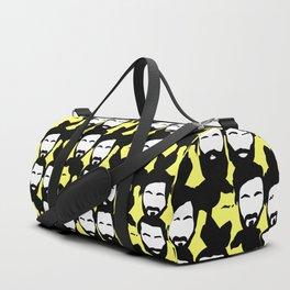 Beards are sexy_yellow Duffle Bag
