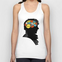 conan Tank Tops featuring Sherlock Phrenology by Wharton