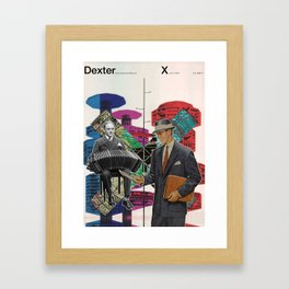 Dexter X Framed Art Print