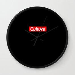 Black Culture Wall Clock