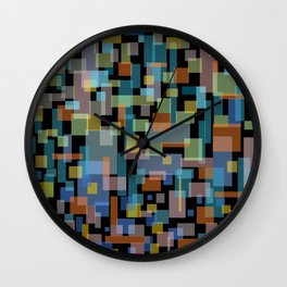 zappwaits new york city Wall Clock