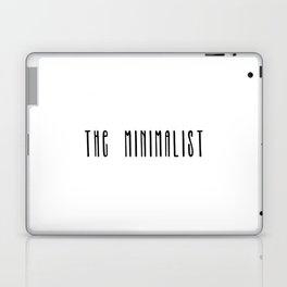The Minimalist text Laptop & iPad Skin