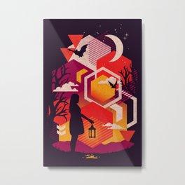 Illuminates Metal Print