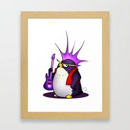 My Digital Zoo - Penguin Framed Art Print