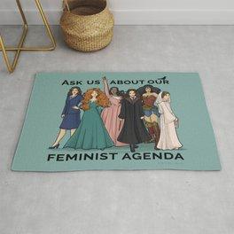 Feminist Agenda Rug