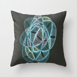 Small Nebula Two Throw Pillow