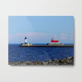 Duluth Lighthouse Metal Print