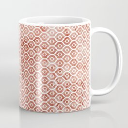 Mandarin Trellis Pattern Coffee Mug