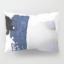 Navy Blue Abstract Pillow Sham