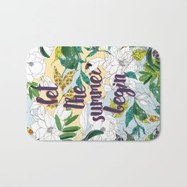 Let the summer begin Bath Mat
