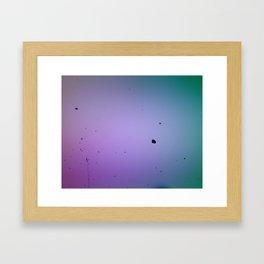 Sugar in Space Framed Art Print