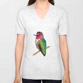 Anna's Hummingbird Unisex V-Neck