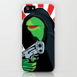 Gangster Kermit iPhone Case