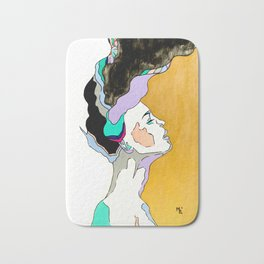 Explosion of Thoughts Bath Mat