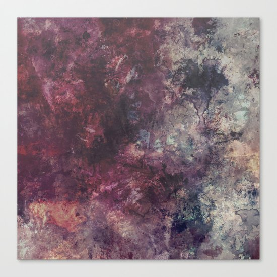 acrylic grunge Canvas Print
