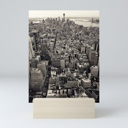 the city Mini Art Print