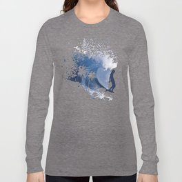 The Longboard Surfer Long Sleeve T-shirt