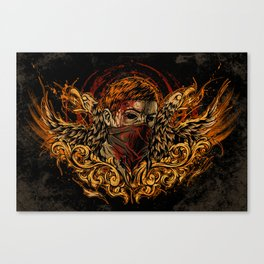 Back from the Dead Canvas Print