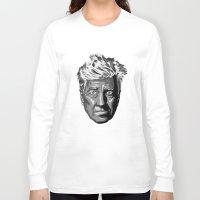 david lynch Long Sleeve T-shirts featuring David Lynch by lego-drama