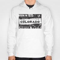 colorado Hoodies featuring Colorado by To Be Colorado