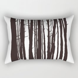 The Trees and The Forest Rectangular Pillow