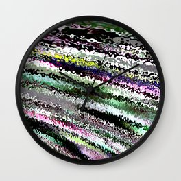 Abstract Nine Wall Clock