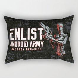Destroy Organics Rectangular Pillow