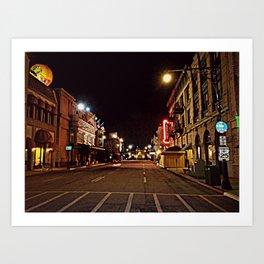 Streets of America Art Print
