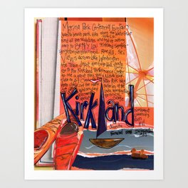 Kirkland Washington Art Print